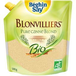 Blonvilliers, Sucre en poudre brut non raffiné, blon...