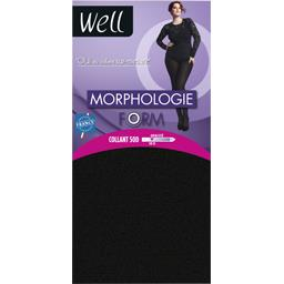 Collant 50 D Morphologie Form -1m65, noir