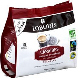 Dosette de café moulu BIO Caraïbes