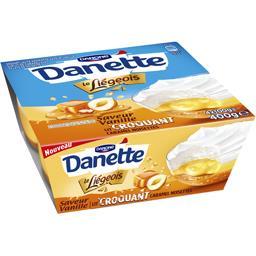 Danette - Crème dessert Le Liégeois vanille caramel ...