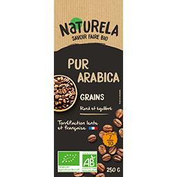 Naturela Café en grains pur arabica BIO