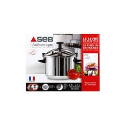 Cocotte-minute Authentique inox 4,5 l