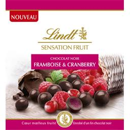 Lindt Sensation Fruit Framboise & Cranberry 65 g -