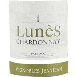 Lunès chardonnay, vin blanc