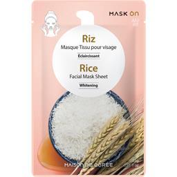 Maison de Corée Masque visage éclaircissant riz le sachet de 23 g