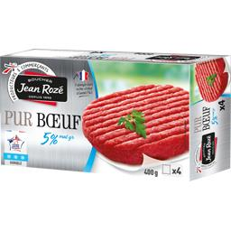 Steak haché pur bœuf 5% mg