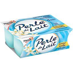 Perle de Lait - Yaourt saveur vanille