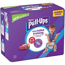 Huggies Couche culotte Pull-Ups garçon, T 18-23 kg le paquet de 25