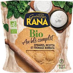 Pâtes au blé complet épinards, ricotta et burrata BI...
