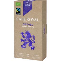 Café Royal Bio Owemba - 50 capsules Compatibles avec le Système Nespresso* (Lot de 5X10)