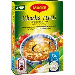 Potage Chorba Tlitli halal