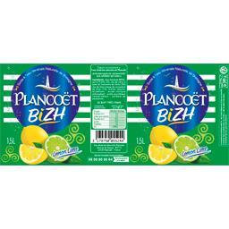 Eau minérale, PLANCOET, Bizh lemon, bouteille de 1,5L