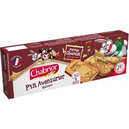 Biscuits P'tit Aventurier parfum chocolat