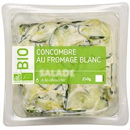 Concombre au fromage blanc BIO
