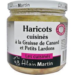 Alain Martin haricots a la graisse de Canard et Lardons 400g