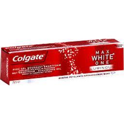 Dentifrice Max White One Luminous menthe pétillante