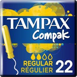 Compak - Tampons Régulier avec applicateur
