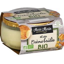 Crème brûlée BIO