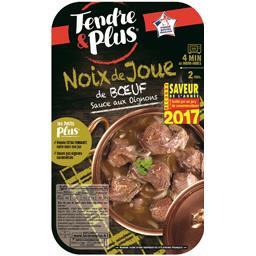 Noix de joue de bœuf sauce aux oignons