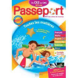 Passeport du ce 2 au cm 1 - 8/9 ans