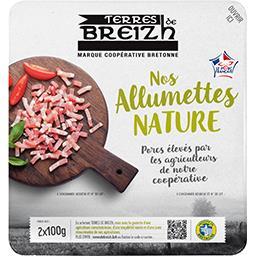 Les Bonnes Allumettes bretonnes nature