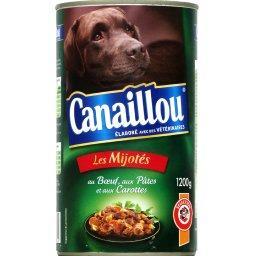 Les Mijotés bœuf pâtes carottes pour chiens adultes