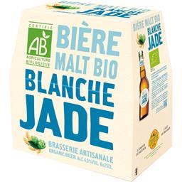 Bière Bio Jade Blanche pur Malt