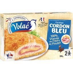 Escalope cordon bleu 100% filet de poulet
