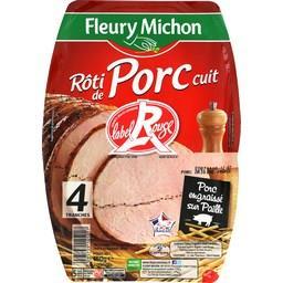 Rôti de porc cuit Label Rouge