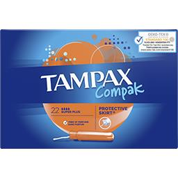 Compak - Tampons Super Plus avec applicateur