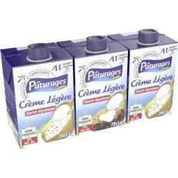 Crème légère semi-épaisse 18% MG