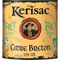 Cidre breton doux BIO