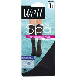 Sensation Spa - Mi-bas opaque noir medium TU