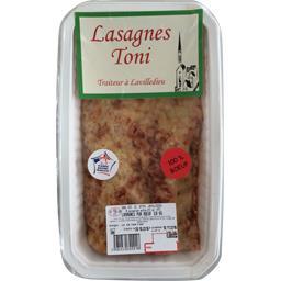 Sélectionné par votre magasin Lasagne pur bœuf La barquette de 800 gr