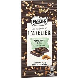 Les Recettes de l'Atelier - Chocolat noir amandes gr...