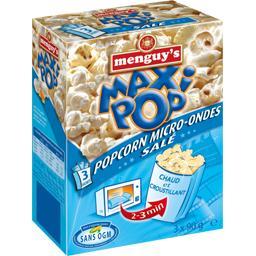 Popcorn Maxi Pop micro-ondes salé