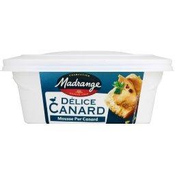 Délice canard, mousse pur canard, La boîte de 170g