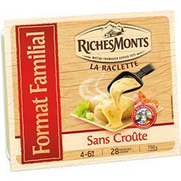 Les Idées Raclette - La Raclette sans croûte