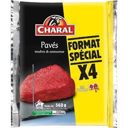 Pavés de steaks Charal