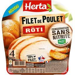 Filet de poulet rôti sans nitrite