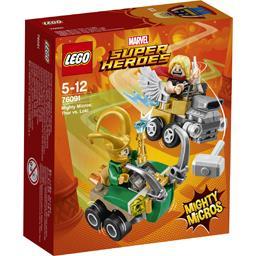 Thor vs Loki Mighty Micros Marvel Super Heroes