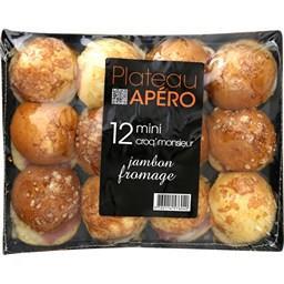 Minis croq'monsieur jambon fromage