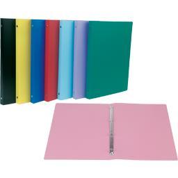 Classeur souple, 4 trous, coloris assortis