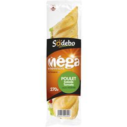 Le Méga - Sandwich viennois poulet/salade/tomate/sau...