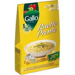 Riso Gallo Gallo Risotto Pronto - Préparation pour risotto quatre fro...