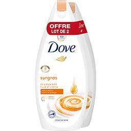 Dove Huile-crème douche soin nourrissante Mon soin cocoon...