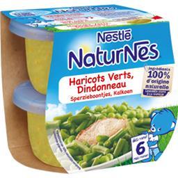 Haricots verts dindonneau, dès 6 mois