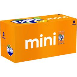 Mini soda orange