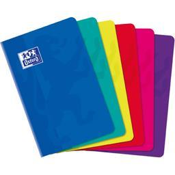 Carnet agrafe 110x170 90 g Q5/5 coloris assortis