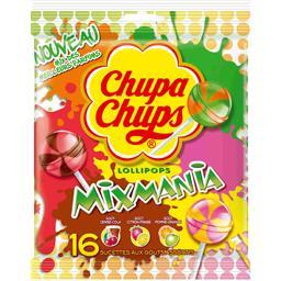 Sucettes Mixmania goûts assortis